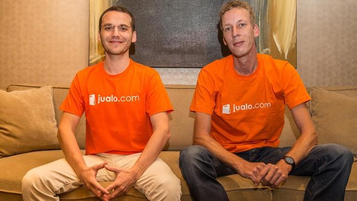 Chaim Fetter dan Remco Lupker Foto: Jualo