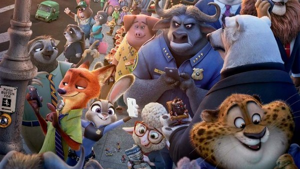 Zootopia Raih Best Motion Pictures di Golden Globe 2017
