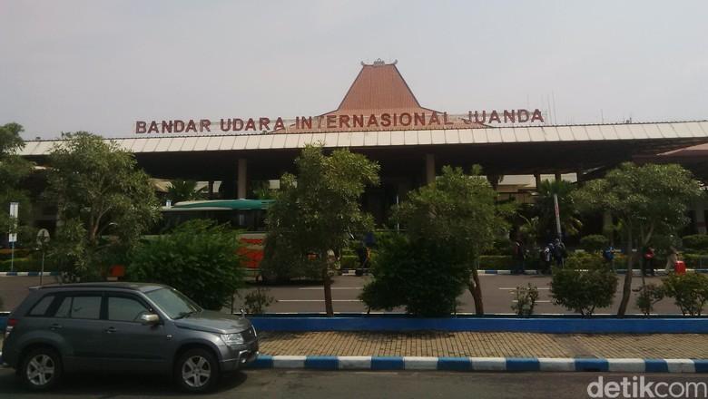 Foto: Bandara Internasional Juanda (Zainal Effendi/detikcom)