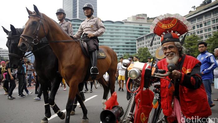 Berkuda termasuk salah satu olahraga yang dianjurkan (Foto: Rachman Haryanto)