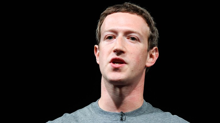 Pendiri Facebook Mark Zuckerberg. Foto: GettyImages/David Ramos