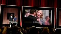 Kali ini ia kembali dengan film Carol dan memerankan Carol Aird yang sukses membawanya menjadi nominasi Aktris Wanita Terbaik pada Oscar 2016. Kevin Winter/Getty Images/detikFoto.
