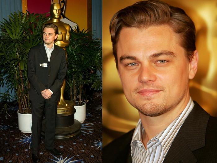 Leonardo DiCaprio at Oscar