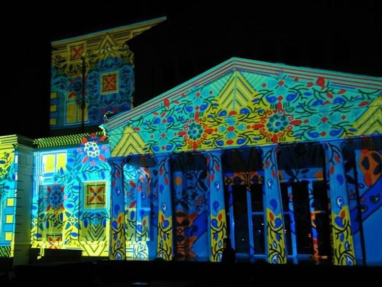 Video Mapping Untukmu Indonesiaku di Museum Nasional Dibuka Malam Ini