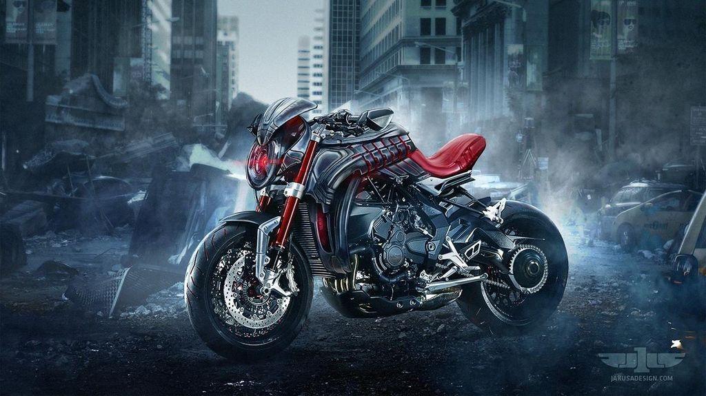 MV Agusta ala Avengers