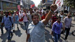 Kerusuhan di India Tewaskan 11 Orang, Masjid Ikut Dibakar