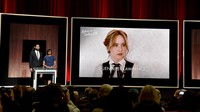 Jennifer Lawrence atau yang biasa disapa J-Law kembali bersaing di Oscar 2016. Kevin Winter/Getty Images/detikFoto.