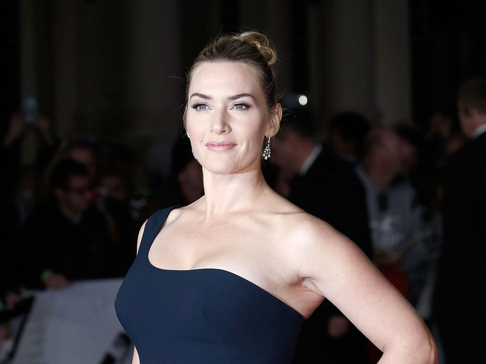 LONDON, ENGLAND - OCTOBER 18:  Kate Winslet attends the Steve Jobs Closing Night Gala during the BFI London Film Festival, at Odeon Leicester Square on October 18, 2015 in London, England.  (Photo by John Phillips/Getty Images for BFI)