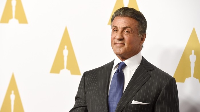 BEVERLY HILLS, CA - FEBRUARY 08:  Actor Sylvester Stallone attends the 88th Annual Academy Awards nominee luncheon on February 8, 2016 in Beverly Hills, California.  (Photo by Kevin Winter/Getty Images)