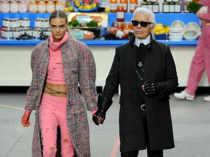 Karl Lagerfeld rilis boneka kucing seharga Rp 7,3 juta