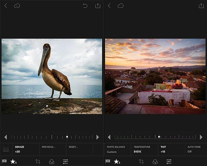 Adobe Lightroom. Foto: Adobe