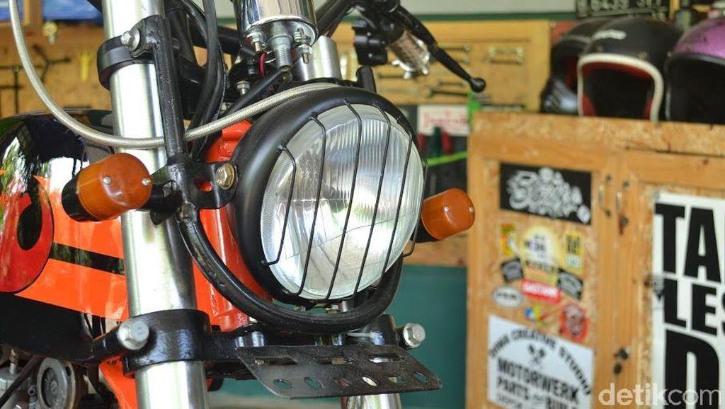 Ragam Motor Modif Hasil Karya Diwa Creative Studio