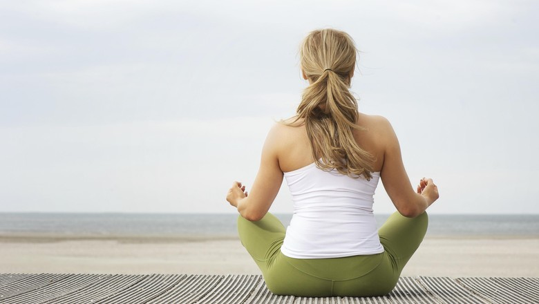 Ilustrasi meditasi/ Foto: thinkstock