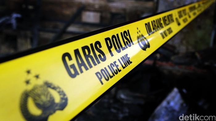 Garis polisi, police line. Rachman Haryanto /ilustrasi/detikfoto