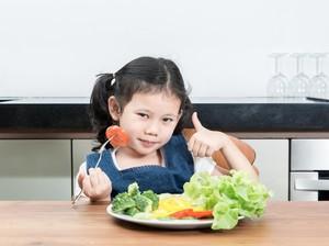 Bun, Cara Ini Bisa Bikin Anak Doyan Makan Sayur Lho