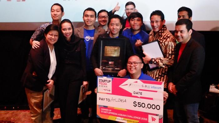Foto: Dokumentasi Startuppedia ASEAN Challenge 2016