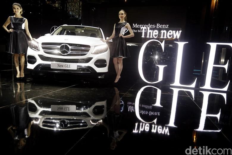 Ilustrasi Mercedes-Benz GLE Foto: Rengga Sancaya