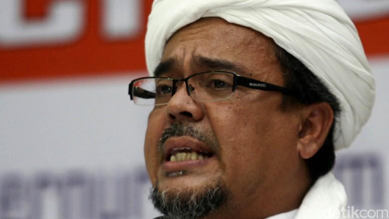 Jika Pemerintah Tak Mau Bayar Overstay Habib Rizieq, FPI akan Galang Dana