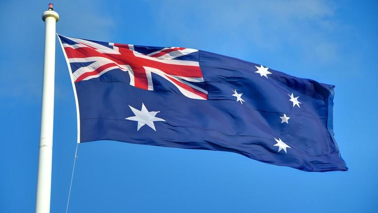 Ilustrasi Bendera Australia (pool)