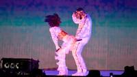 Pemilik nama lengkap Robyn Rihanna Fenty itu memberikan kejutan di penampilannya tersebut dengan berduet bersama Drake di BRIT Awards 2016 yang digelar di London pada Rabu (24/2/2016) waktu setempat. Ian Gavan/Getty Images/detikFoto.