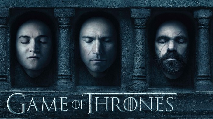 Poster terbaru Game of Thrones musim keenam