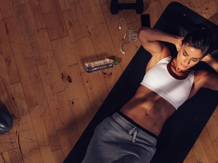 Olahraga yang berlebihan juga tidak baik untuk kesehatan. Foto: thinkstock