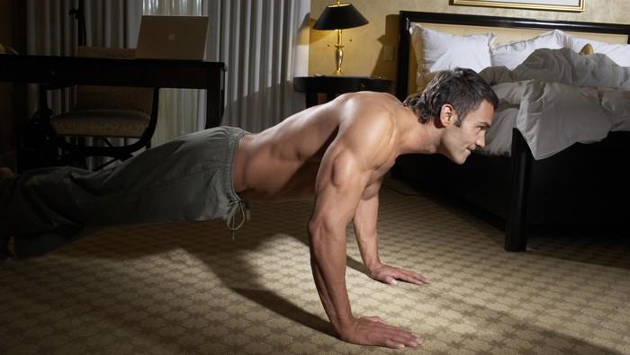 Jangan mager! Olahraga di kasur bisa kok! Foto: ilustrasi/thinkstock