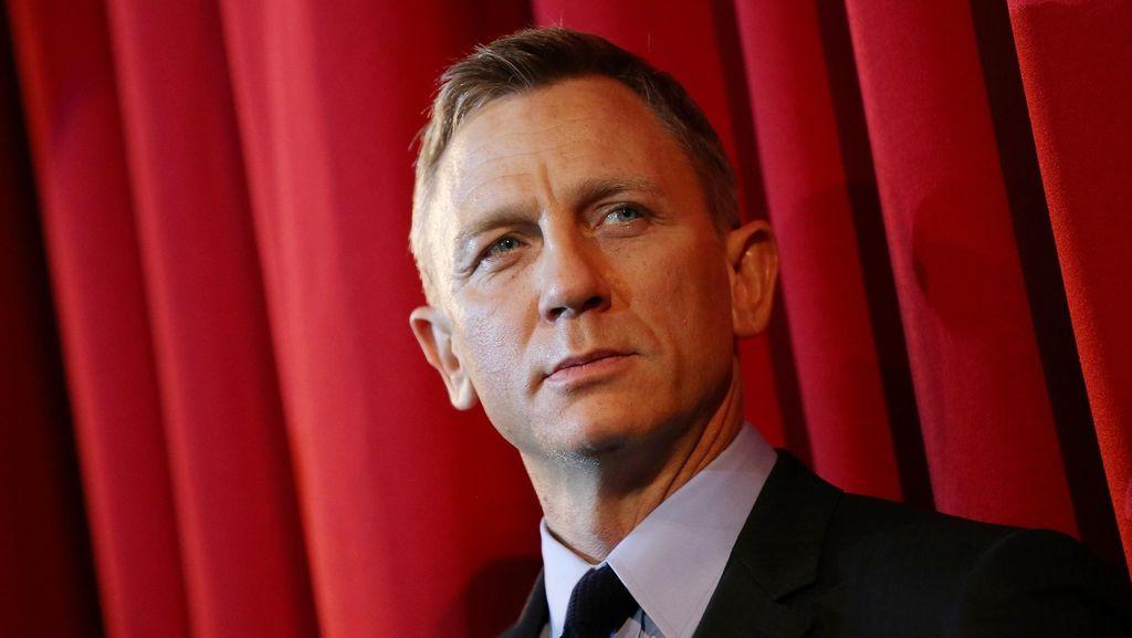 Jadi James Bond, Daniel Craig Pernah Dicaci Maki karena Warna Rambut
