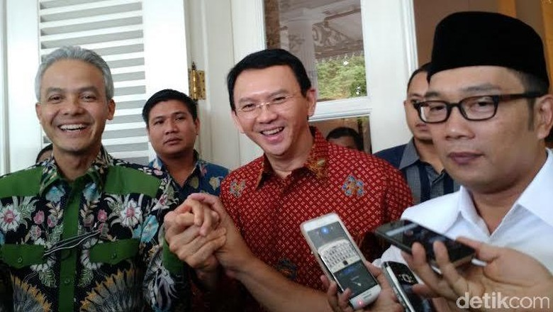 Analisa Ahok: Kalau Ridwan Kamil Gagal di Jakarta, Ikut Pilgub Jabar