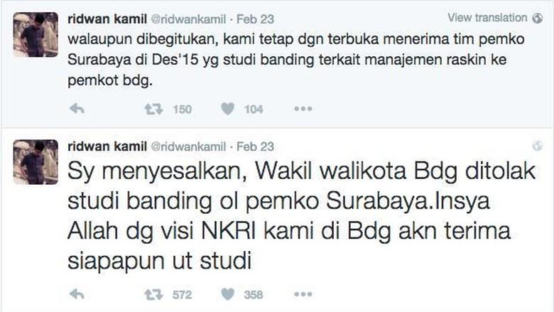 Wakil Wali Kota Surabaya: Kicauan Ridwan Kamil Kekanak-kanakan