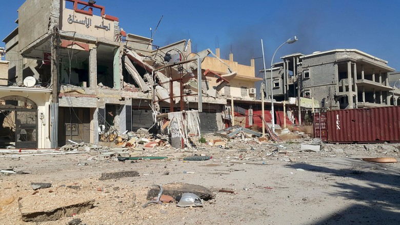 Bom Meledak di Benghazi Libya, Dua Staf PBB Tewas