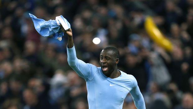 Yaya Toure tersingkir dari skuat utama di bawah arahan Pep Guardiola.
