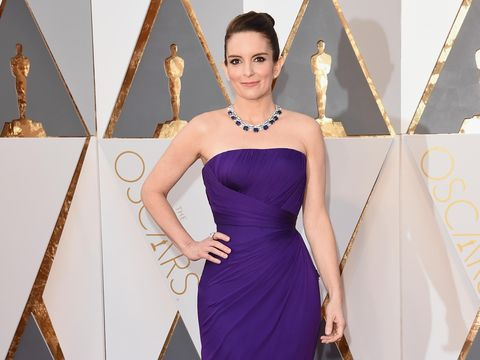 HOLLYWOOD, CA - FEBRUARY 28:  Actress Tina Fey attends the 88th Annual Academy Awards at Hollywood & Highland Center on February 28, 2016 in Hollywood, California.  (Photo by Jason Merritt/Getty Images)