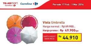 Antisipasi Hujan dengan Promo Transmart Carrefour