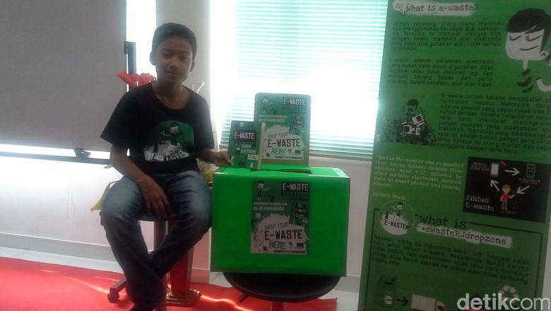 Rafa Jafar, Langkah Kecil Siswa SMP Tumbuhkan Kesadaran Limbah Elektronik