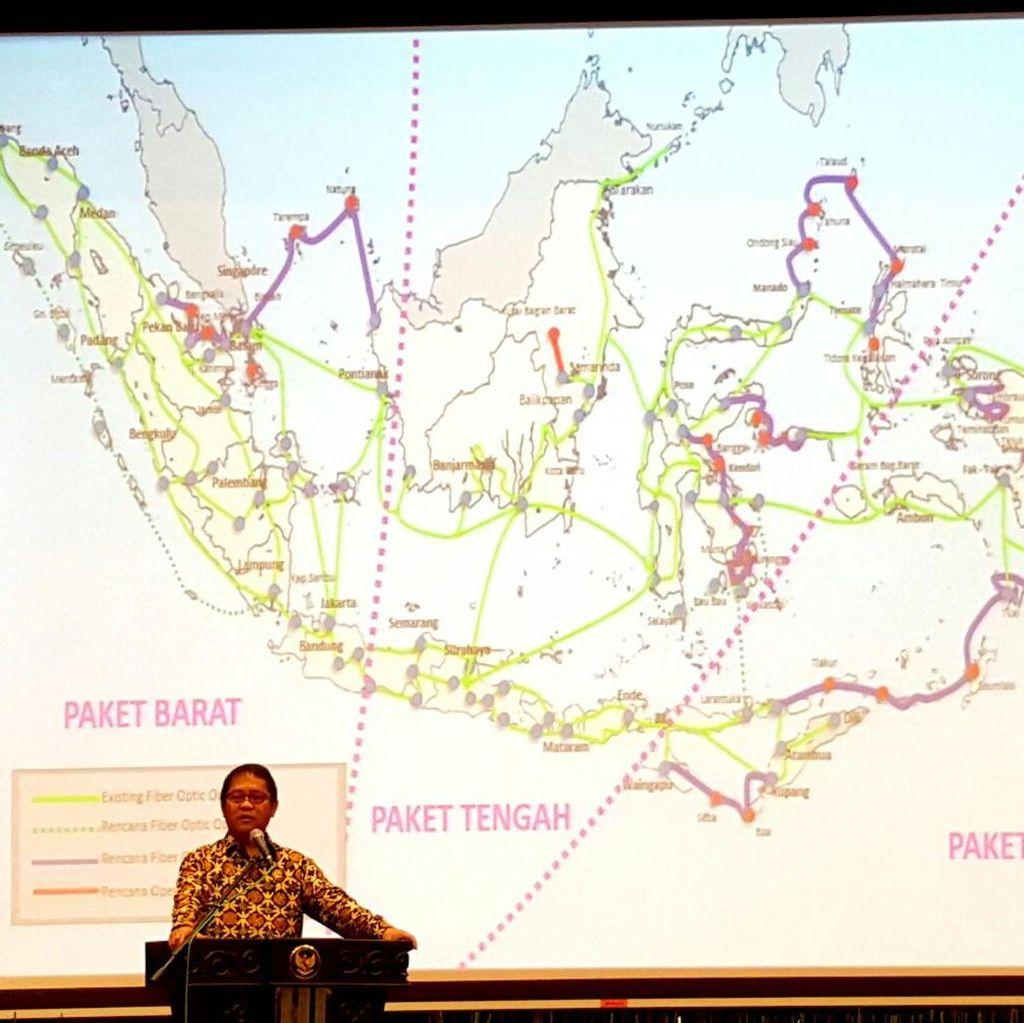 Presiden Jokowi Akan Resmikan Tol Langit Palapa Ring Pagi Ini