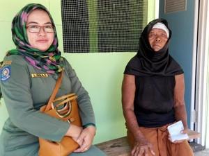 Nenek Lasiyem, Penderita Tumor Kulit Dapat Bantuan Rumah dan Uang