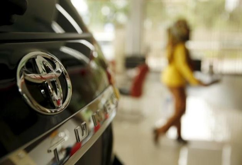 Toyota menarik beberapa modelnya terkait permasalahan airbag. Foto: Reuters
