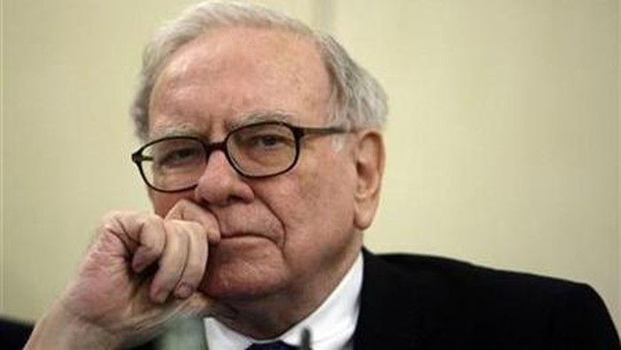 Warren Buffett masuk terkaya dunia