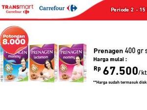 Tambah Kalsium Ibu Hamil dengan Promo Susu Hamil di Transmart Carrefour