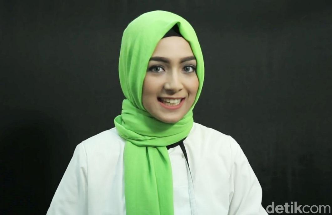 Tutorial Hijab Turki Ala Si Cantik Bella Nabila, Finalis Hijab Hunt 2015