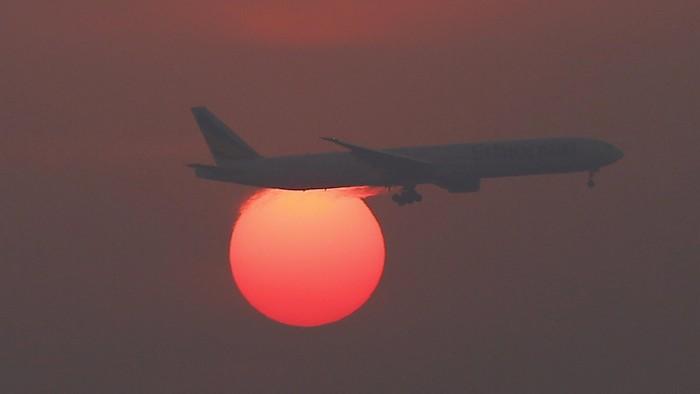Ilustrasi pesawat (REUTERS/Kim Kyung-Hoon)