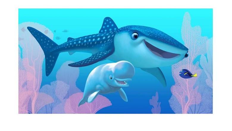 Unduh 5200 Gambar Animasi Ikan Dori Terbaru
