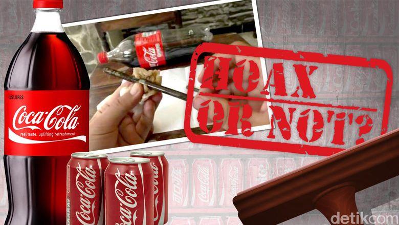 Menjawab Broadcast Miring Soal Coca Cola Sebagai Pembersih