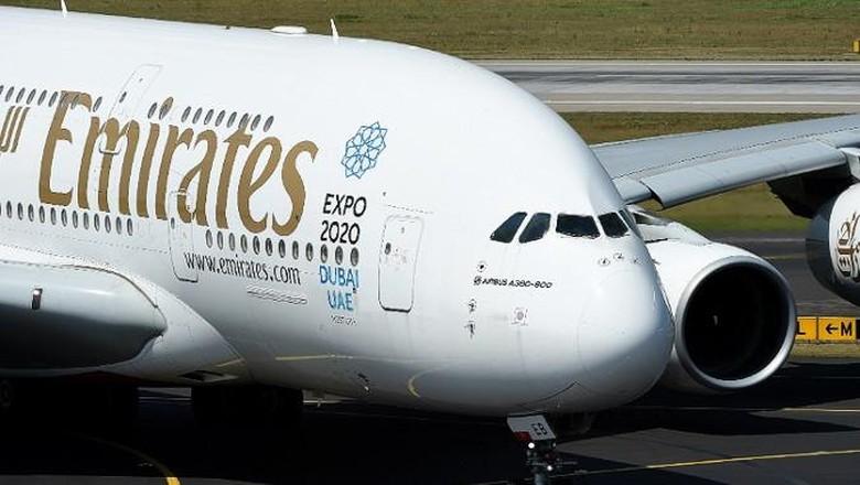 Ilustrasi pesawat Emirates  (AFP/CNN Travel)