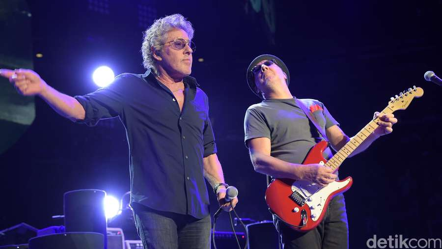 Konser Perayaan ke-50 The Who di New York
