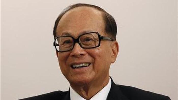Orang terkaya nomor dua di Asia, Li Ka-Shing