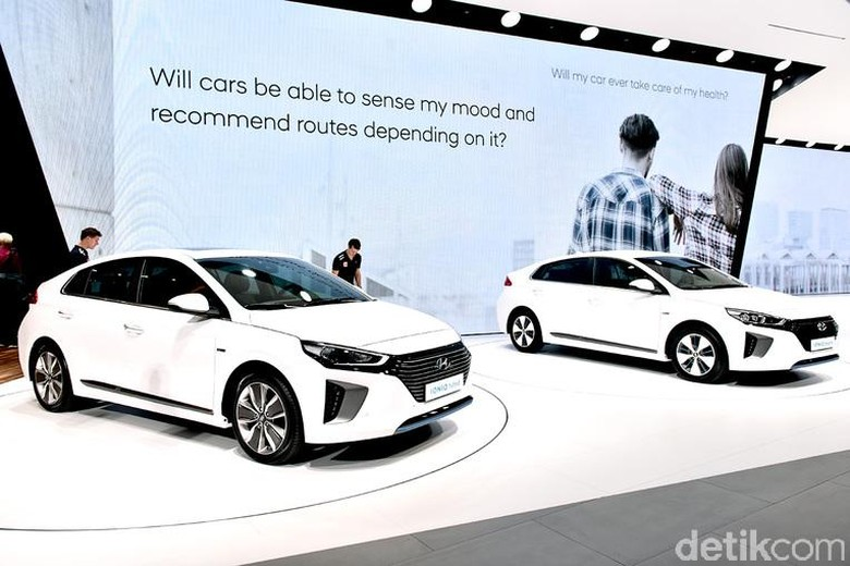 Hyundai Ioniq. Foto: Geneva Motor Show