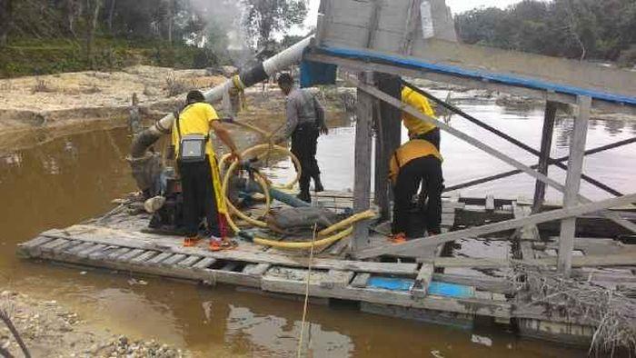 Ilustrasi Tambang Ilegal/Foto: Polres Kuansing