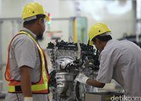 Ilustrasi pabrik Toyota